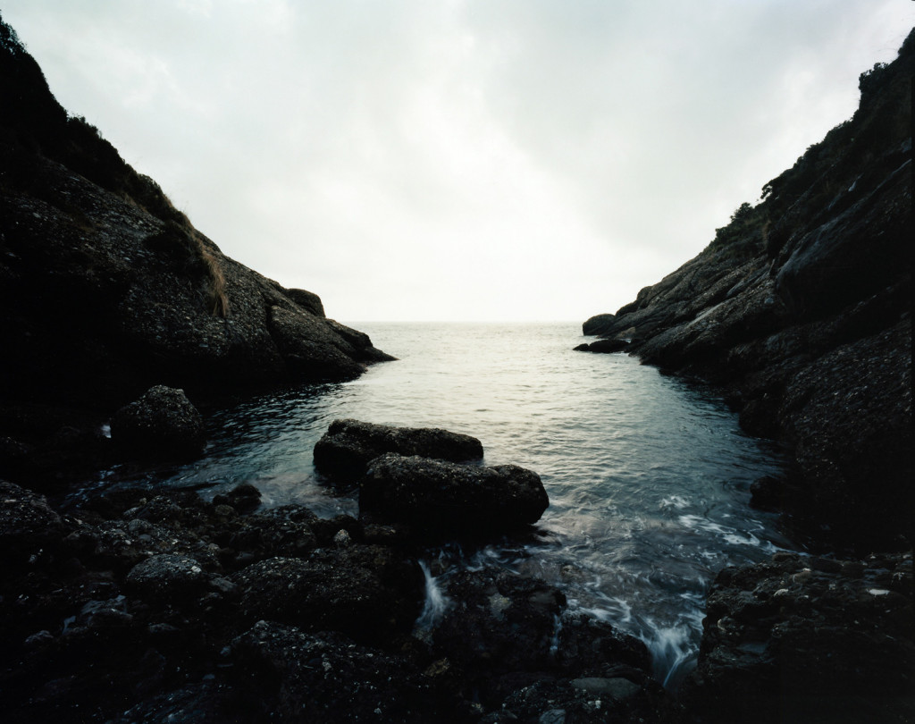 Cala dell'oro, nell'area protetta di Portofino il 13 agosto 2007. (Andrea Botto)