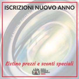 Diventare fotografo professionista: apertura iscrizioni a SRF e sconti speciali