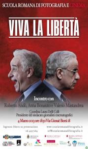 Locandina Viva la libertàweb