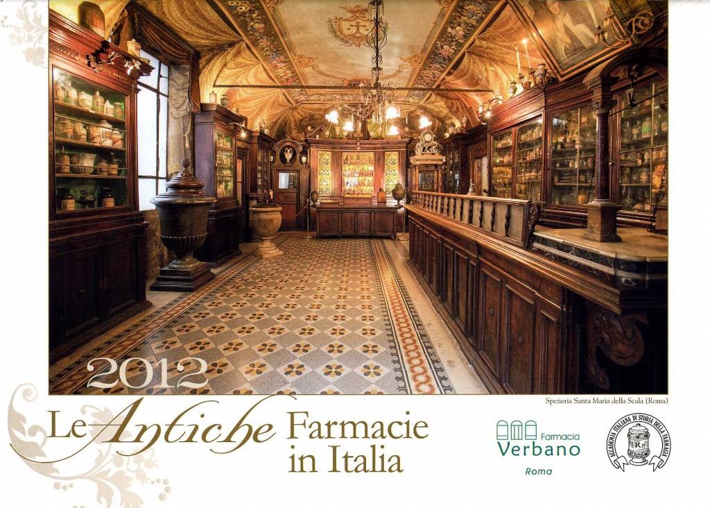 calendario antiche farmacie in italia