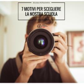 Corsi fotografia Roma: 7 motivi per scegliere la scuola migliore