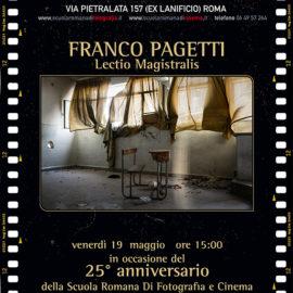 Nuovo evento a SRF: la lectio magistralis di FRANCO PAGETTI