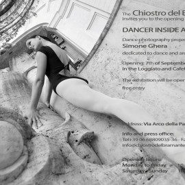 DANCER INSIDE ARCHITECTURE