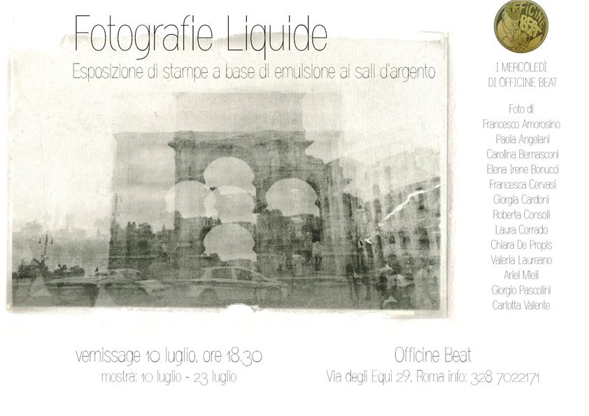FOTOGRAFIE LIQUIDE