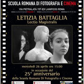 LETIZIA BATTAGLIA a SRF: vita, passione, fotografia